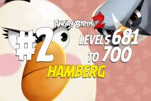 Angry Birds 2 Levels 681 to 700 Hamberg 3-Star Walkthrough – Cobalt Plateaus