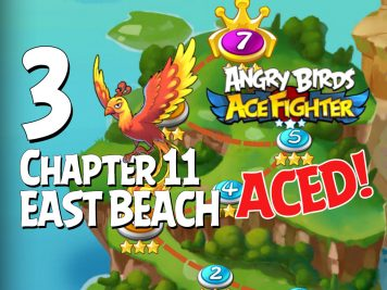 Angry Birds Ace Fighter Chapter 11 East Beach Aced