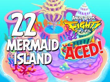 Angry Birds Fight Mermaid Island Aced