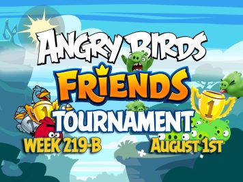 Angry Birds Friends Tournament Week 219-B Feature Image