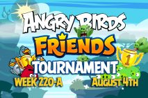 Angry Birds Friends 2016 Tournament 220-A On Now!