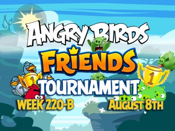 Angry Birds Friends Tournament Week 220-B Feature Image