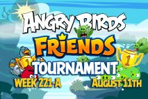 Angry Birds Friends 2016 Tournament 221-A On Now!