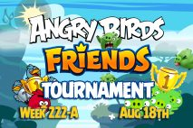 Angry Birds Friends 2016 Tournament 222-A On Now!