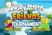 Angry Birds Friends 2016 Tournament 222-B On Now!