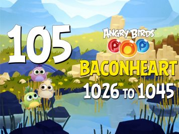 Angry-Birds-POP-Part-105-Levels-1026-to-1045-Baconheart