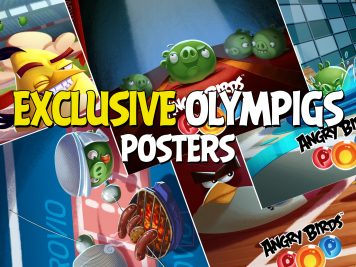 Angry Birds Pop Exclusive Olympigs Posters