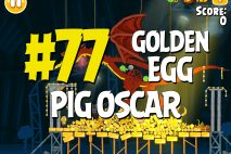 "Angry Birds Seasons Piggywood Studios, Part 1! ""Pig Oscar"" Golden Egg #77 Walkthrough"