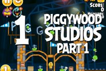 Angry Birds Seasons Piggywood Studios, Part 1! Level 1-1 Walkthrough