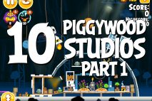 Angry Birds Seasons Piggywood Studios, Part 1! Level 1-10 Walkthrough