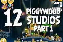Angry Birds Seasons Piggywood Studios, Part 1! Level 1-12 Walkthrough
