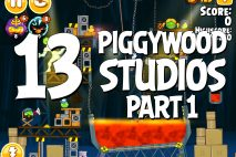Angry Birds Seasons Piggywood Studios, Part 1! Level 1-13 Walkthrough