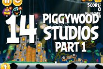 Angry Birds Seasons Piggywood Studios, Part 1! Level 1-14 Walkthrough