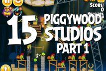 Angry Birds Seasons Piggywood Studios, Part 1! Level 1-15 Walkthrough