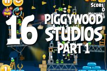 Angry Birds Seasons Piggywood Studios, Part 1! Level 1-16 Walkthrough