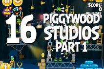 Angry Birds Seasons Piggywood Studios, Part 1! Level 1-16 Walkthrough