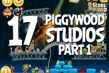 Angry Birds Seasons Piggywood Studios, Part 1! Level 1-17 Walkthrough