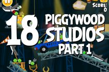 Angry Birds Seasons Piggywood Studios, Part 1! Level 1-18 Walkthrough
