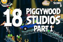 Angry Birds Seasons Piggywood Studios, Part 1! Level 1-18 Walkthrough