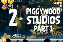 Angry Birds Seasons Piggywood Studios, Part 1! Level 1-2 Walkthrough