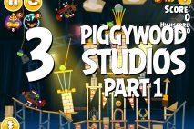 Angry Birds Seasons Piggywood Studios, Part 1! Level 1-3 Walkthrough