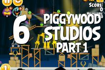 Angry Birds Seasons Piggywood Studios, Part 1! Level 1-6 Walkthrough
