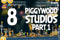 Angry Birds Seasons Piggywood Studios, Part 1! Level 1-8 Walkthrough