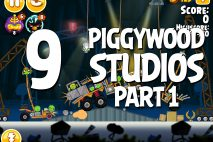 Angry Birds Seasons Piggywood Studios, Part 1! Level 1-9 Walkthrough