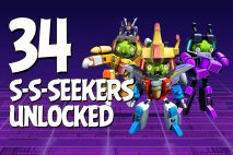 Let's Play Angry Birds Transformers | Part 34 | Starscream, Sunstorm and Skywarp