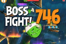 Angry Birds 2 Boss Fight Level 746 Walkthrough – Bamboo Forest The Hamazonas