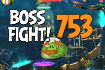 Angry Birds 2 Boss Fight Level 753 Walkthrough – Bamboo Forest The Hamazonas
