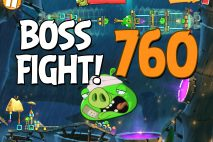 Angry Birds 2 Boss Fight Level 760 Walkthrough – Bamboo Forest The Hamazonas