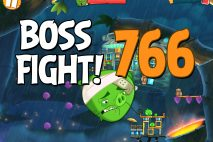 Angry Birds 2 Boss Fight Level 766 Walkthrough – Bamboo Forest The Hamazonas