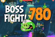 Angry Birds 2 Boss Fight Level 780 Walkthrough – Bamboo Forest The Hamazonas