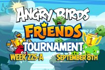 Angry Birds Friends 2016 Tournament 225-A On Now!