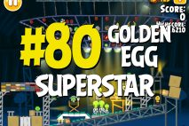 "Angry Birds Seasons Piggywood Studios, Part 2! ""Superstar"" Golden Egg #80 Walkthrough"