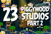 Angry Birds Seasons Piggywood Studios, Part 2! Level 2-23 Walkthrough