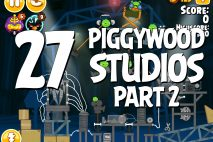 Angry Birds Seasons Piggywood Studios, Part 2! Level 2-27 Walkthrough