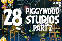 Angry Birds Seasons Piggywood Studios, Part 2! Level 2-28 Walkthrough