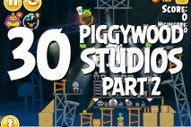 Angry Birds Seasons Piggywood Studios, Part 2! Level 2-30 Walkthrough