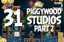Angry Birds Seasons Piggywood Studios, Part 2! Level 2-31 Walkthrough