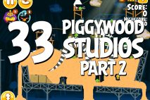 Angry Birds Seasons Piggywood Studios, Part 2! Level 2-33 Walkthrough