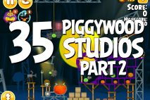 Angry Birds Seasons Piggywood Studios, Part 2! Level 2-35 Walkthrough