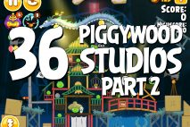 Angry Birds Seasons Piggywood Studios, Part 2! Level 2-36 Walkthrough