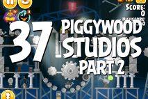 Angry Birds Seasons Piggywood Studios, Part 2! Level 2-37 Walkthrough