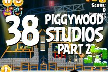Angry Birds Seasons Piggywood Studios, Part 2! Level 2-38 Walkthrough