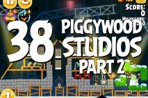Angry Birds Seasons Piggywood Studios, Part 2! Level 2-38 Walkthrough