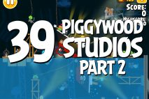 Angry Birds Seasons Piggywood Studios, Part 2! Level 2-39 Walkthrough