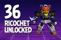 Let's Play Angry Birds Transformers | Part 36 | Ricochet