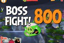 Angry Birds 2 Boss Fight Level 800 Walkthrough – Cobalt Plateaus Copacabacon